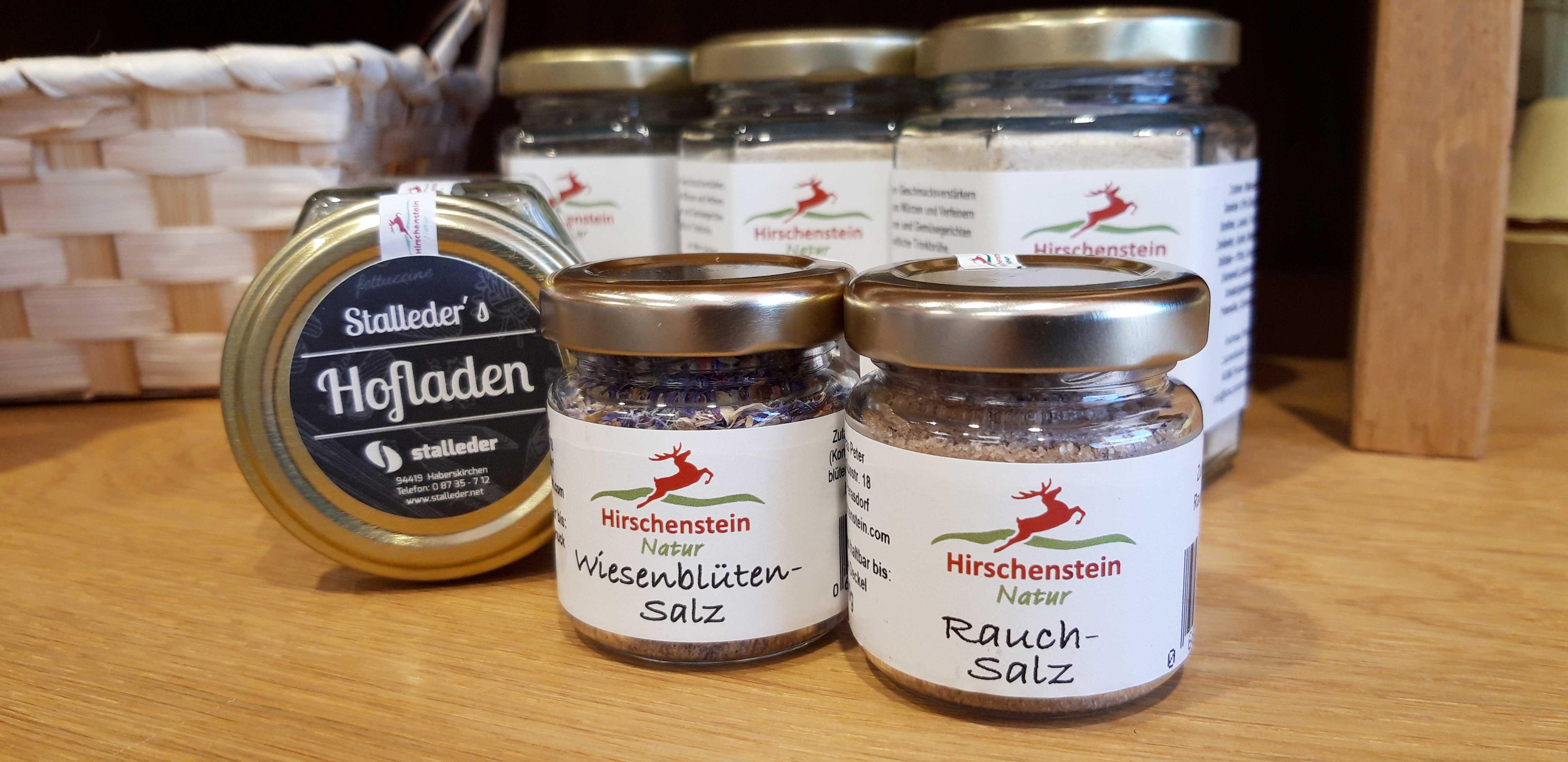 Hirschenstein-Natur Salze im Hofladen