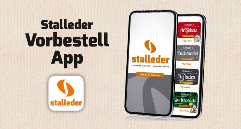 Kostenlose Stalleder Vorbestell App